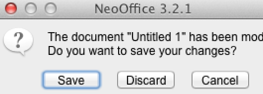 NeoOffice 3.2.1 on Retina display