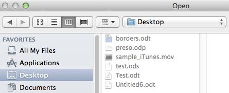 App Sandbox native Open dialog